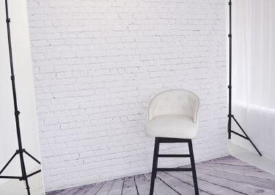 Brick Background at Sun Catcher Studio